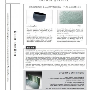 Newsletter - August 2013 - for thumbnail