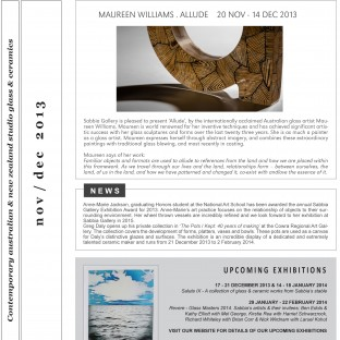 Sabbia-Gallery---November-2013-Newsletter