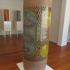ERN - Derek Jungarrayi Thompson's Wanampi, 2013 – acquired by the Powerhouse Museum Sydney