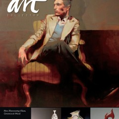 American Art Collector - Jan 2015 Issue 111 - Nick Mount Feature Artist - Front Cover