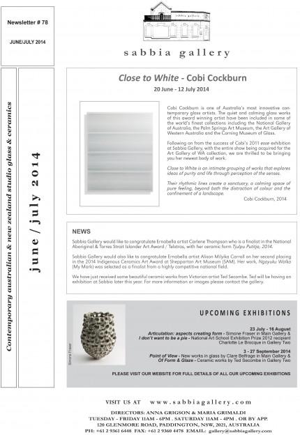 Sabbia-Gallery—June-July-2014-Newsletter