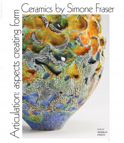 Sabbia Gallery – Simone Fraser – Artist Profile – Issue 27 – June 2014