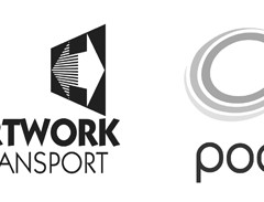 Artwork Transport and Pod Logo Banner